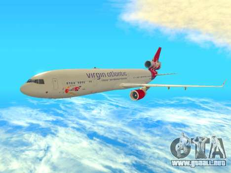 McDonnell Douglas MD-11 para GTA San Andreas left
