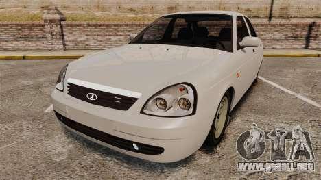 ВАЗ-Lada 2170 Priora v2.0 para GTA 4