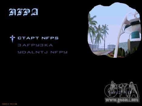 Menu San Andreas 2014 para GTA San Andreas segunda pantalla