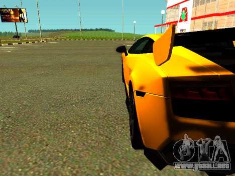 Lamborghini Gallardo Super Trofeo Stradale para la visión correcta GTA San Andreas