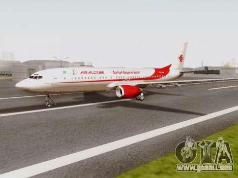 Boeing 737-800 Air Algerie para GTA San Andreas