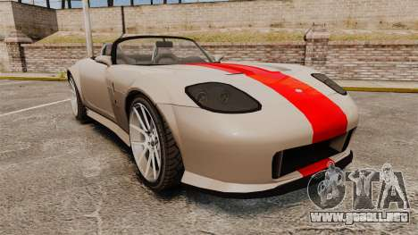 Bravado Banshee new wheels para GTA 4