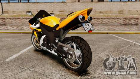 Yamaha R1 RN12 v.0.95 para GTA 4 visión correcta