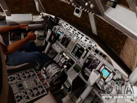 Boeing 737-800 Air Algerie para GTA San Andreas interior