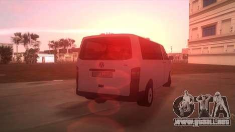 Volkswagen T5 Transporter para GTA Vice City left