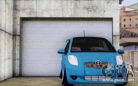 Toyota Yaris Hellaflush Young Child para GTA San Andreas