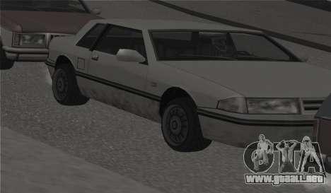 Todas las ruedas en todas las máquinas para GTA San Andreas quinta pantalla