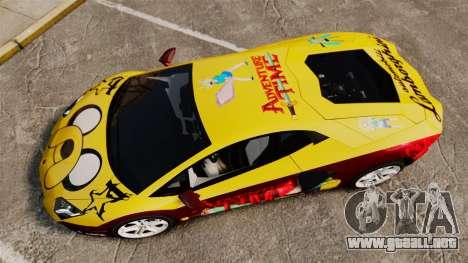 Lamborghini Aventador LP700-4 2012 [EPM] Jake para GTA 4 visión correcta