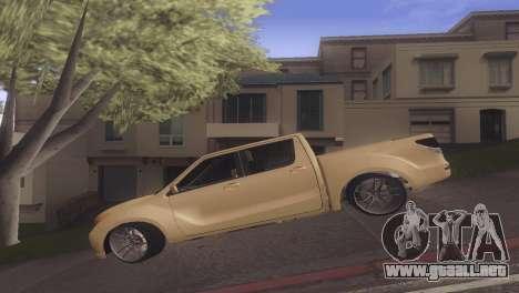 Mazda BT-50 Pro para GTA San Andreas left