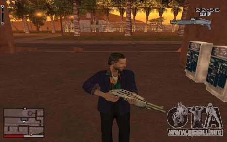 C-HUD GTA 5 para GTA San Andreas segunda pantalla