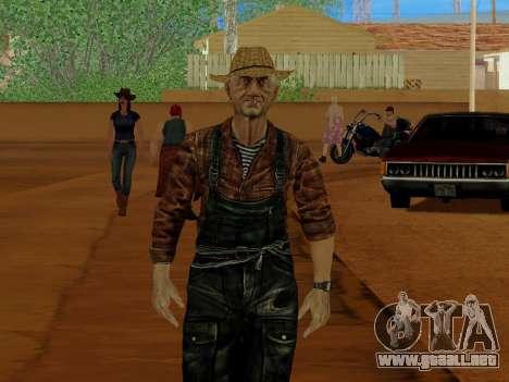 Agricultor o modificado y complementado para GTA San Andreas quinta pantalla