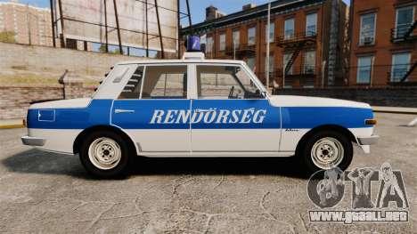 Wartburg 353w Deluxe Hungarian Police para GTA 4 left