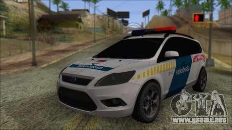 Ford Focus 2008 Station Wagon Hungary Police para GTA San Andreas