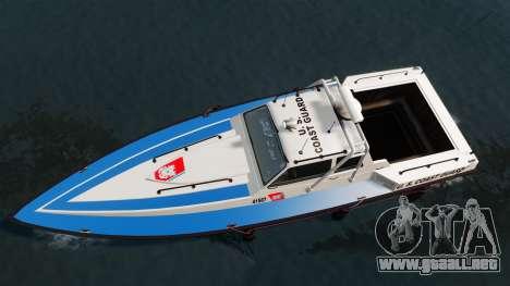 Predator U.S. Coast Guard para GTA 4 visión correcta