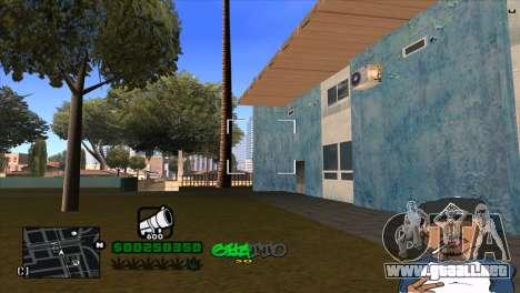 C-HUD By Markus para GTA San Andreas sucesivamente de pantalla