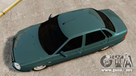 VAZ-2170 para GTA 4 visión correcta