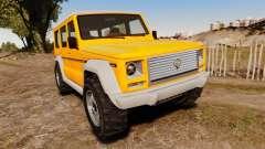 GTA V Benefactor Dubsta new wheels