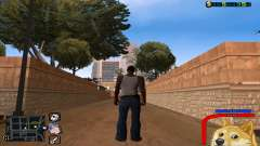 C-HUD Perro WOW para GTA San Andreas
