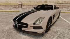 Mercedes-Benz SLS 2014 AMG NFS Stripes para GTA 4