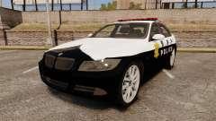 BMW 350i Japanese Police [ELS] para GTA 4