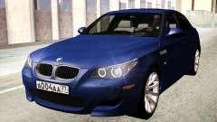 BMW M5 E60 2010 para GTA San Andreas
