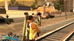 C-HUD Gor Life Ghetto para GTA San Andreas