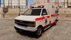 Brute Ambulance v2.1-SH para GTA 4
