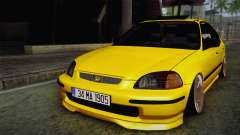 Honda Civic Edit Mehmet ALAN para GTA San Andreas