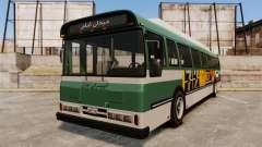 Iraní de pintura de autobuses