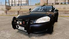 Chevrolet Impala 2010 LS Unmarked K9 Unit [ELS]
