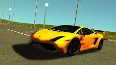 Lamborghini Gallardo Super Trofeo Stradale para GTA San Andreas