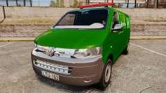 Volkswagen Transporter T5 Hungarian Post [ELS] para GTA 4