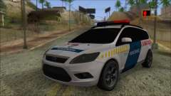 Ford Focus 2008 Station Wagon Hungary Police para GTA San Andreas
