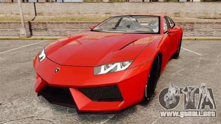 Lamborghini Estoque Concept 2008 para GTA 4