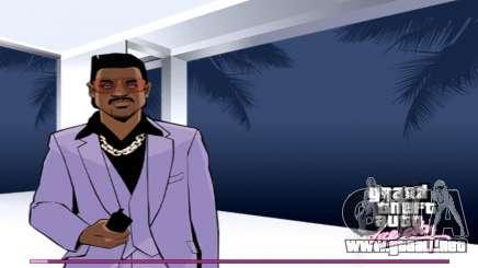 Inicio pantallas con la versión PS2 para GTA Vice City
