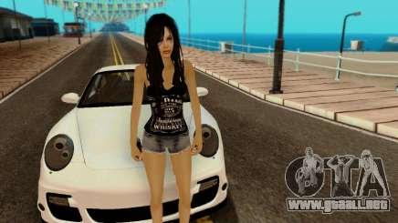 Jack Daniels Girl Skin para GTA San Andreas