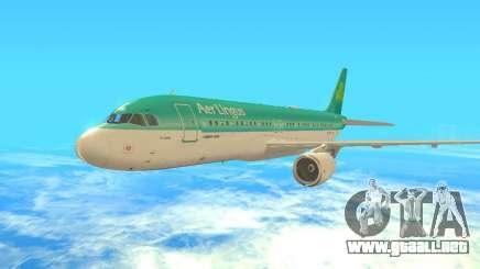 Airbus A320-200 Aer Lingus para GTA San Andreas