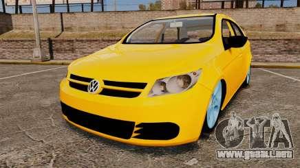 Volkswagen Gol G5 3 Puertas para GTA 4