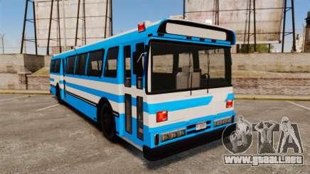 Brute Bus Japanese Police [ELS] para GTA 4