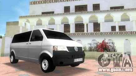 Volkswagen T5 Transporter para GTA Vice City