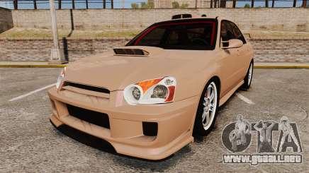 Subaru Impreza WRX STI 2004 para GTA 4