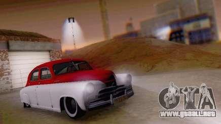 GAZ M-20 Pobeda para GTA San Andreas