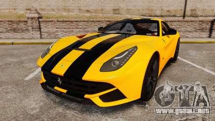 Ferrari F12 Berlinetta 2013 [EPM] Black bars para GTA 4