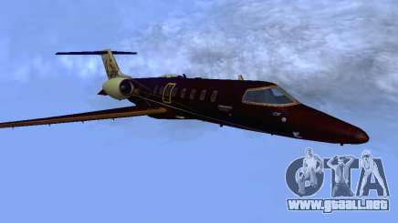 Bombardier Learjet 45 para GTA San Andreas