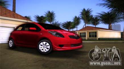 Toyota Yaris para GTA Vice City