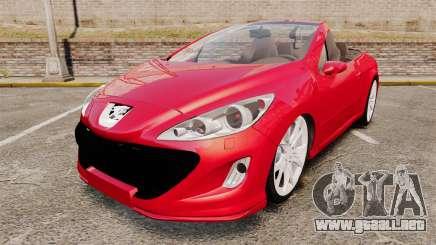 Peugeot 308 CC para GTA 4