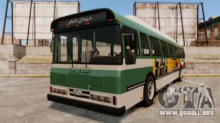 Iraní de pintura de autobuses para GTA 4
