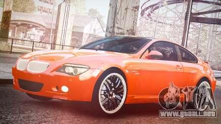 BMW M6 Hamann Widebody v2.0 para GTA 4