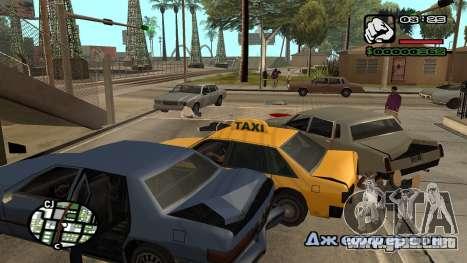 Fuente nueva V.3 para GTA San Andreas para GTA San Andreas novena de pantalla