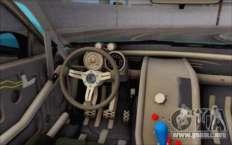 Scion FR-S 2013 Beam para vista inferior GTA San Andreas